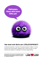 Affisch Läslovspriset 2016