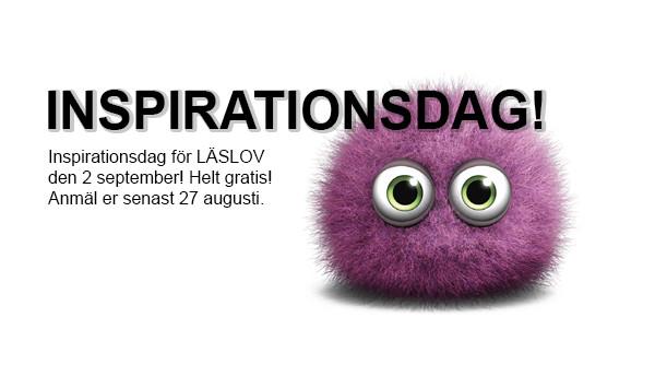 Inspirationsdag för LÄSLOV 2 september