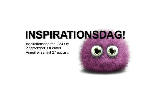 Programmet klart för Läslovets inspirationsdag 2 september 2019